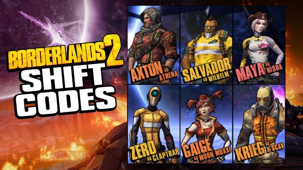 Shift Codes For Borderlands 2