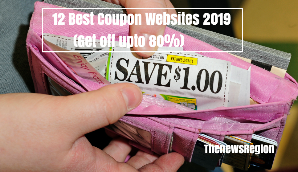 12 Best Coupon Websites 2019 (Get off upto 80%)