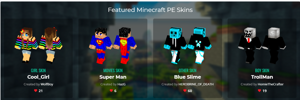 Skins For Minecraft PE: Install custom skins for free - The