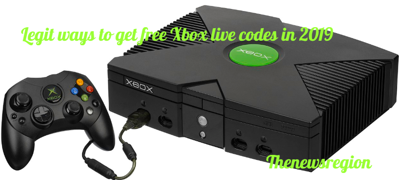 Legit ways to get free Xbox live codes in 2019
