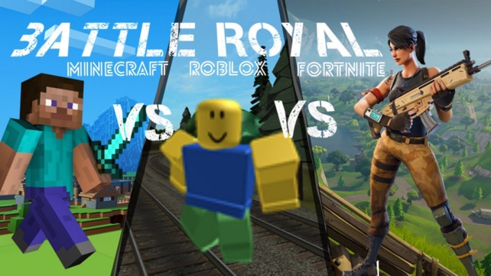 Roblox vs Minecraft vs Fortnite