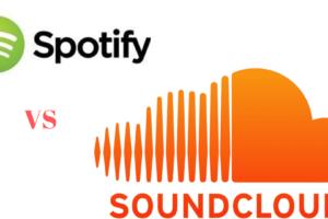 Spotify vs Soundcloud