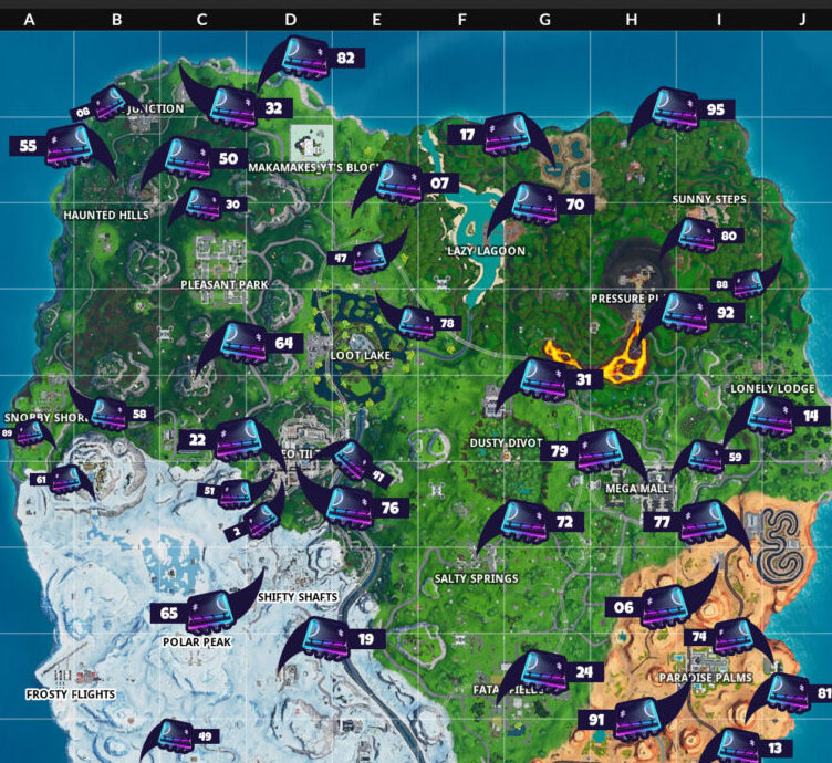 New map Locations