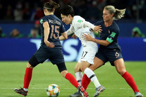 Women's World Cup 2019 : France defeats South Korea 4-0