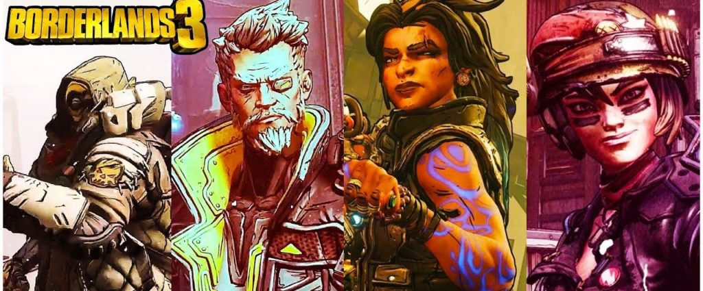 Borderlands3 New Characters