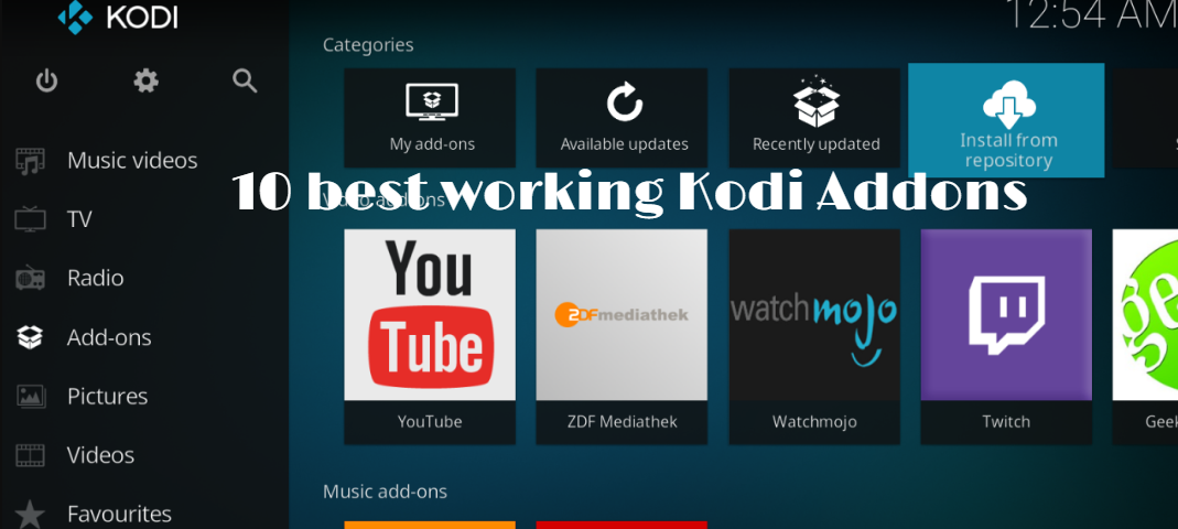 Best Kodi Addons July 2019 10 best working Kodi Addons July 2019   The News Region