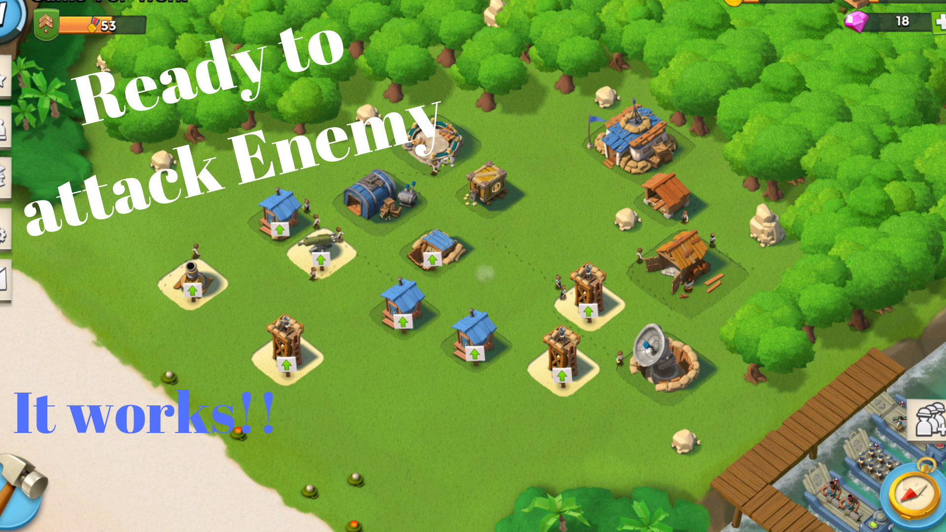 download and play Boom Beach for PC (Windows)