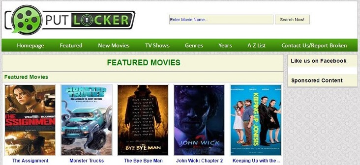 Putlocker review abd look alike sites