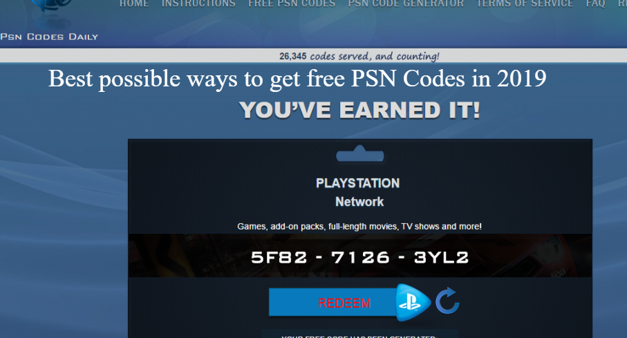 Best possible ways to get free PSN Codes in 2019 (Updated