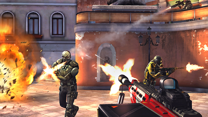 Download and install Modern Combat 5 eSports FPS for PC