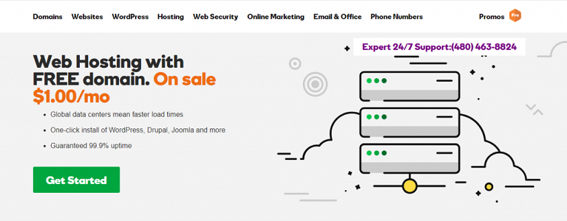 Godaddy Promo code August 2019