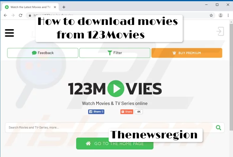 How to Download Movies from 123Movies 720p 1080p Free - The