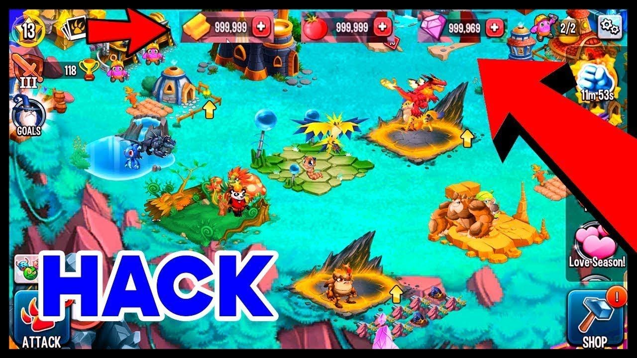 Monster Legends Hack and Cheats to get Free Gems Food and Gold