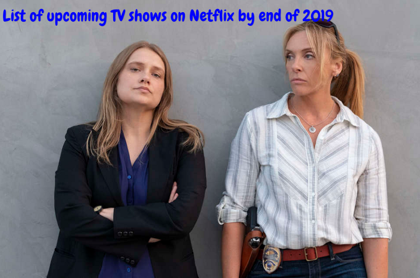 List of upcoming TV shows on Netflix by end of 2019