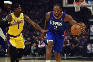 Kawhi Leonard help Clippers won Lakers