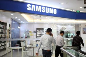 Samsung store at China