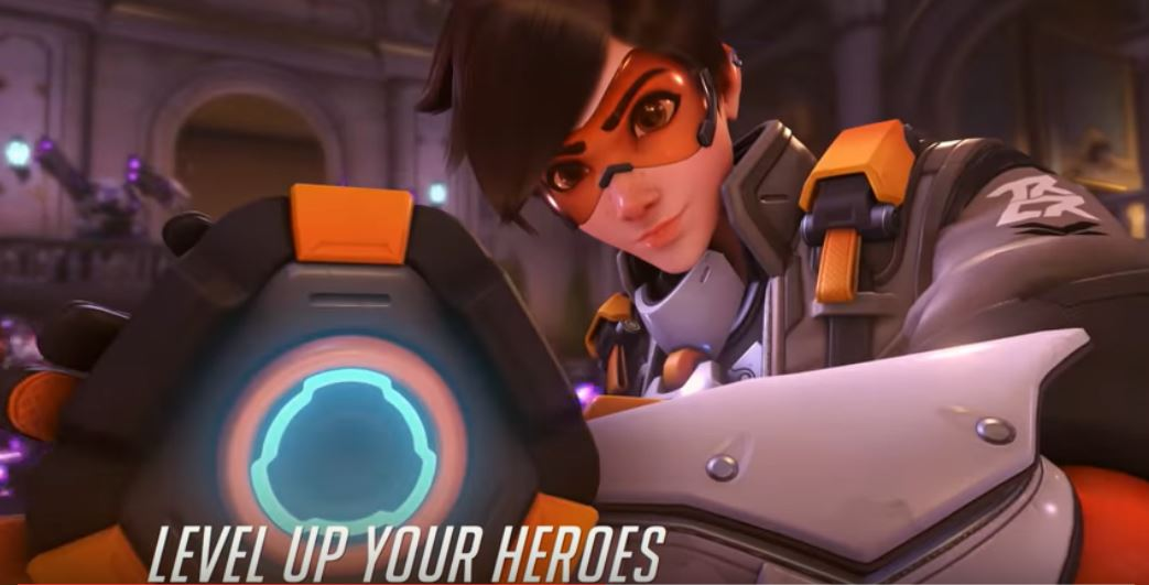 Level up heroes at Overwatch 2