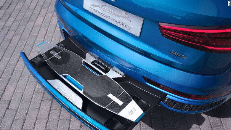 audi electric skateboard