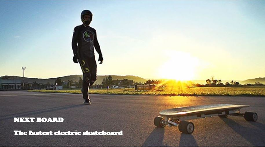 fatest electric skateboard by Mischo Erban