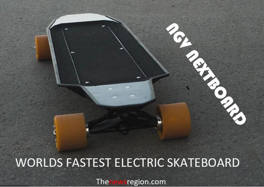 NGV Nextboard, the fastest electric skateboard