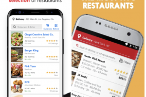 seamless-vs-grubhub food delivery app