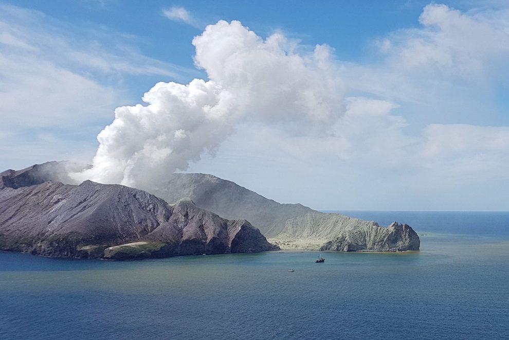 White Island Volcano eruption
