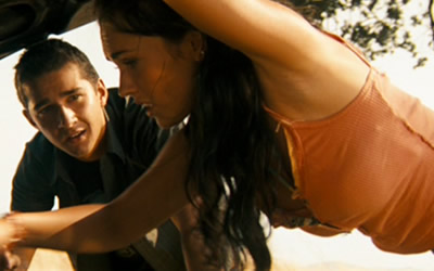 megan fox in transformer 2007