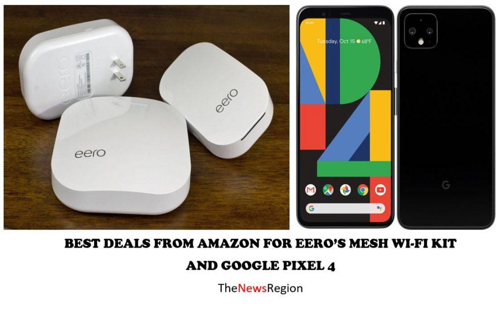 eero's mesh wifi kit