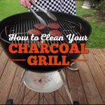 clean charcoal grill