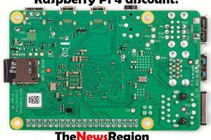 Raspberry Pi 4 discount