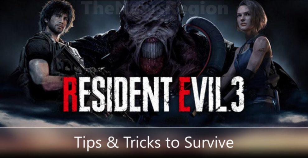 Resident Evil 3 Remake tips