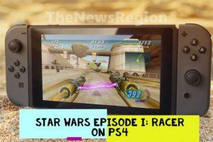 Star Wars Episode I Racer on Ps4