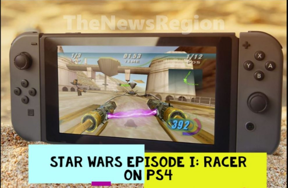 Star Wars Episode I Racer on Ps4