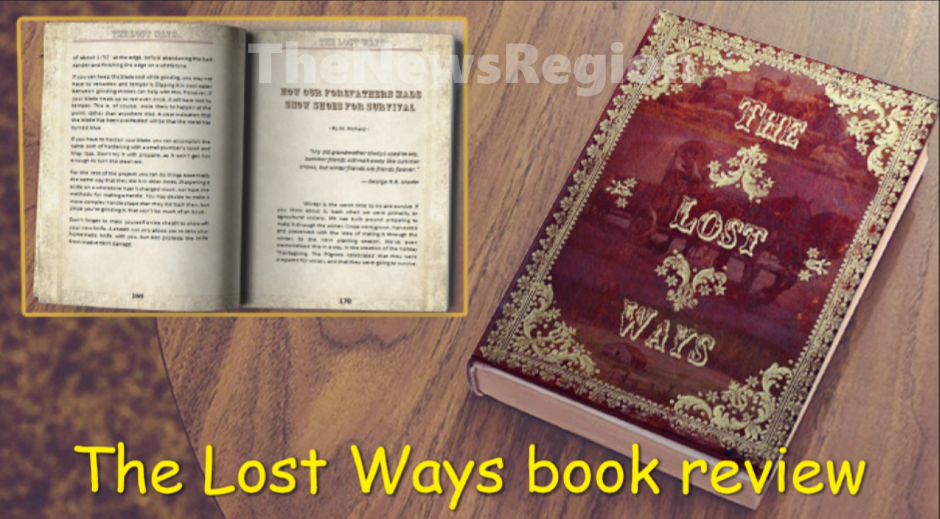 The Lost Ways book by Claude Davis - The News Region