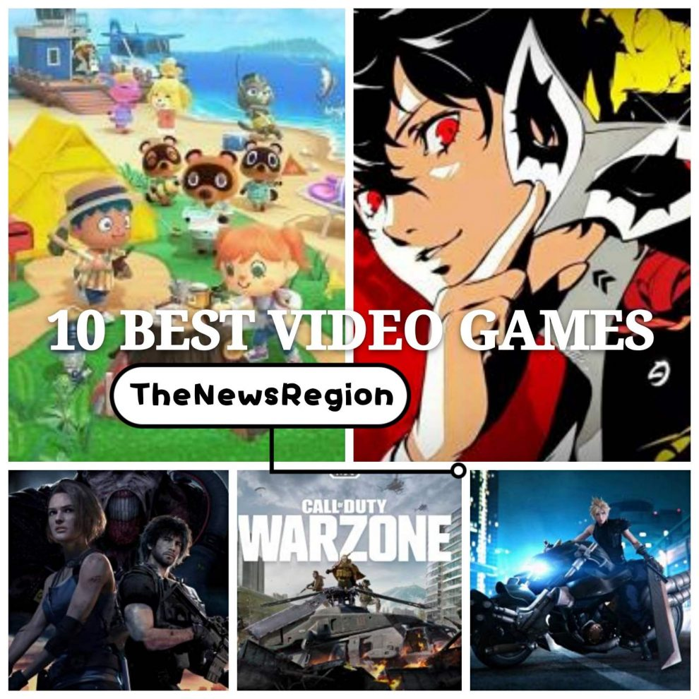 10 best video games