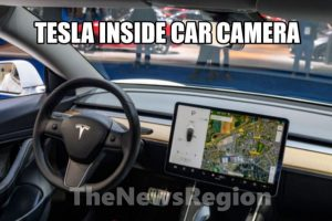 Tesla inside car camera
