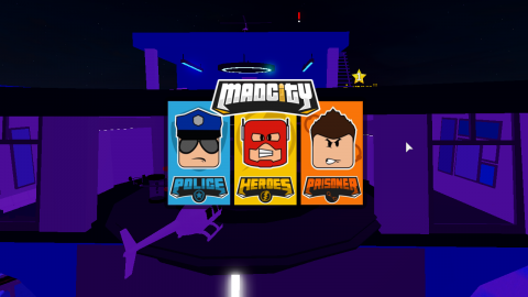 Roblox game Mad City