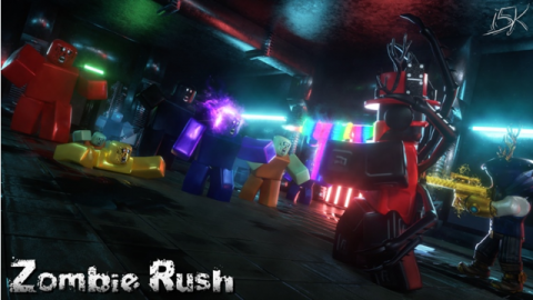 zombie rush - best roblox games