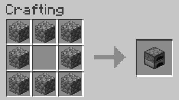 how to make an oven in minecraft 7